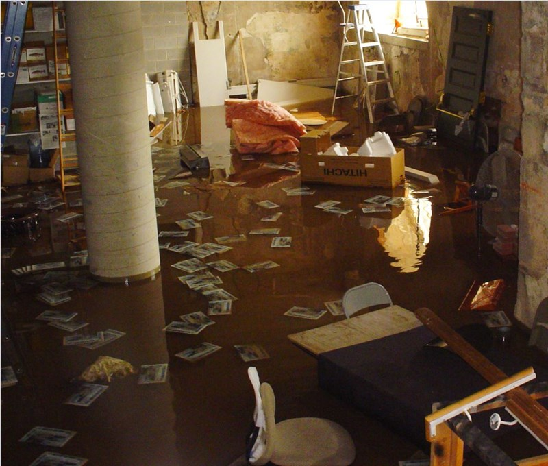 Recovering from an unexpected flood
