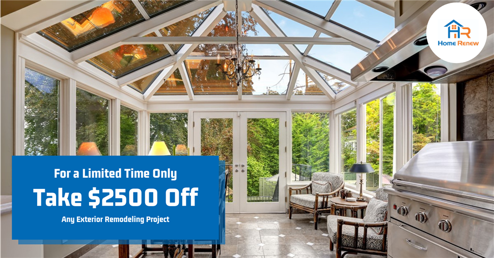 Take $2500 Off Outdoor Living Project