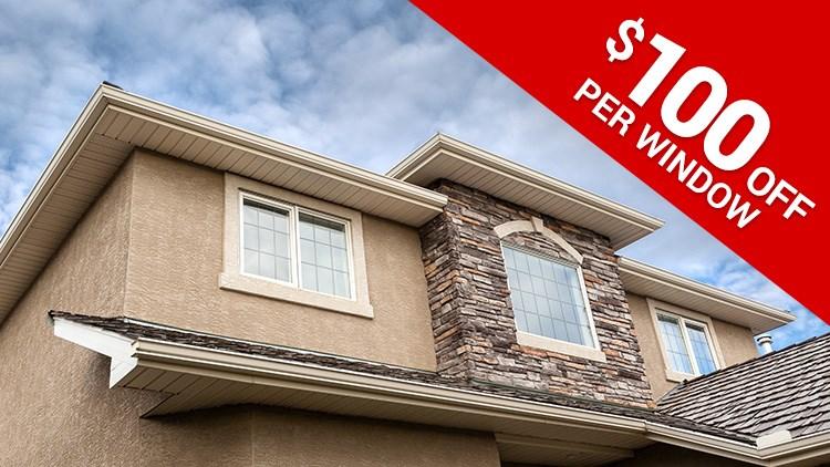 Spring Sale! - $100 off per Window!