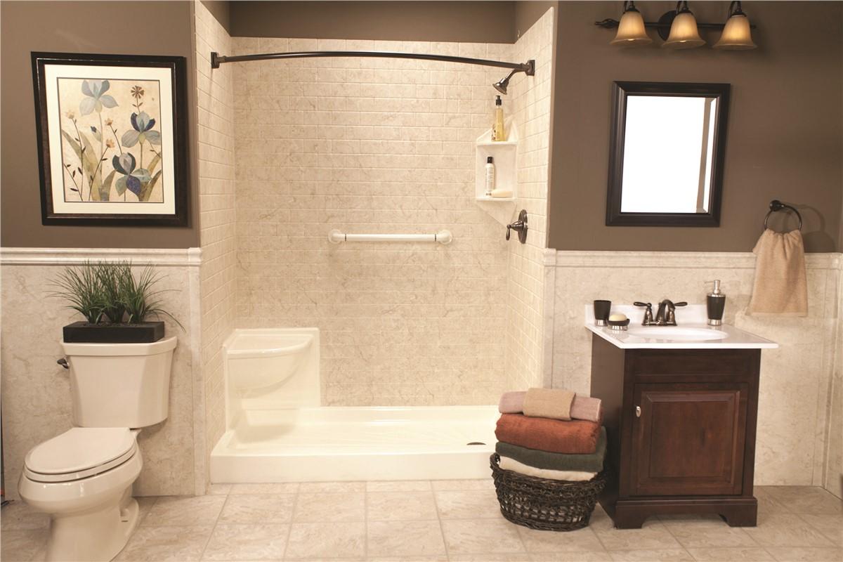 Pensacola Barrier Free Showers Install Roll In Showers Hometown - Bathroom remodel fort walton beach fl