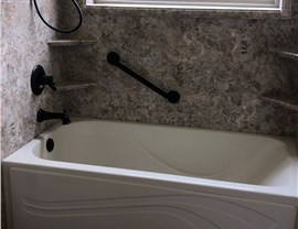 Tub to Shower Conversion in Milton, Pace & Pensacola, Florida