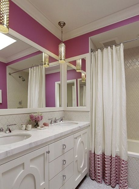 cute pink bathroom decor
