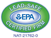 Check for this symbol when talking to contractors, Improve<em>it!</em> Home Remodeling holds EPA certification number NAT-21762-0.