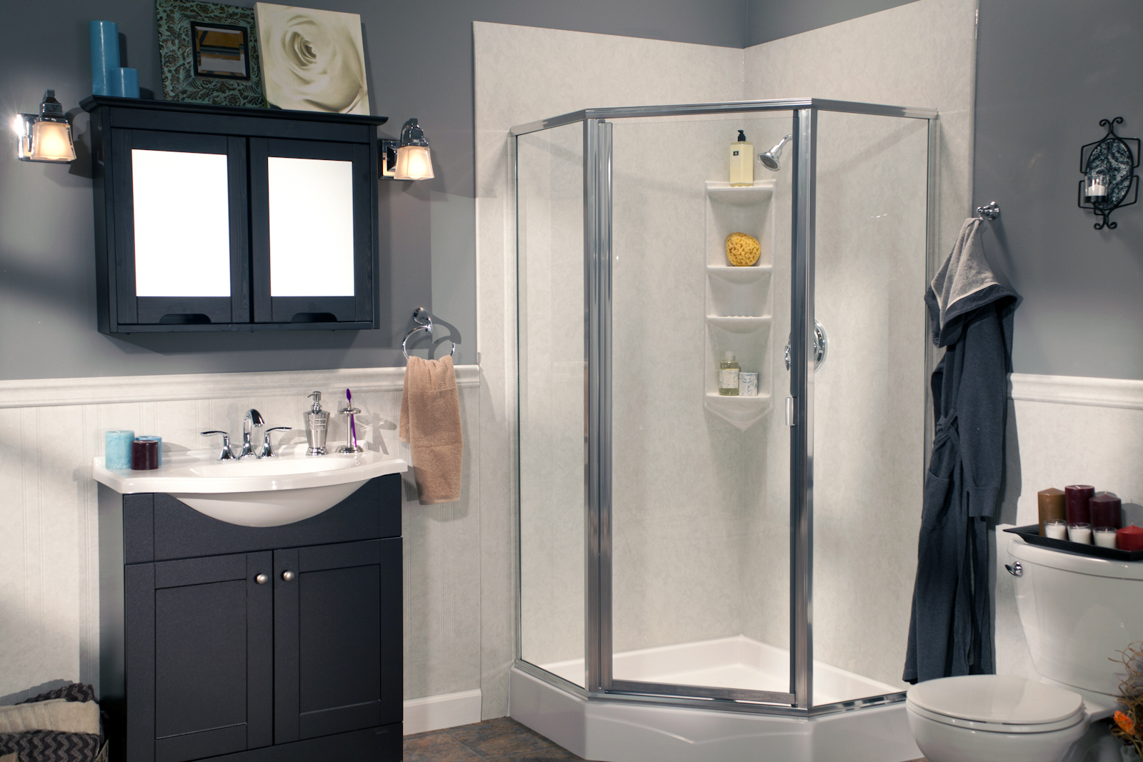 One of the most common renovation projects, a bathroom remodel can also be done in just 1 day!