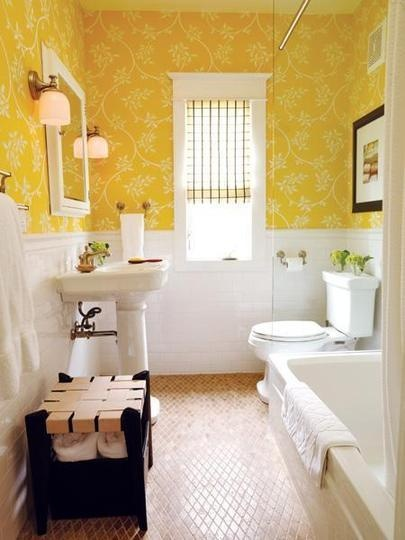 cute yellow bathroom remodel columbus ohio