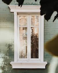 Wood frame window