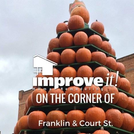ImproveIt Home Remodeling pumpkins October