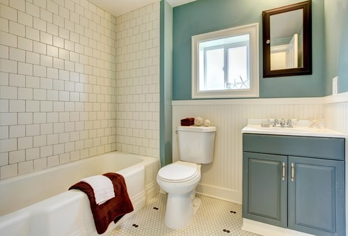 Improve Your Bathroom on a Budget!
