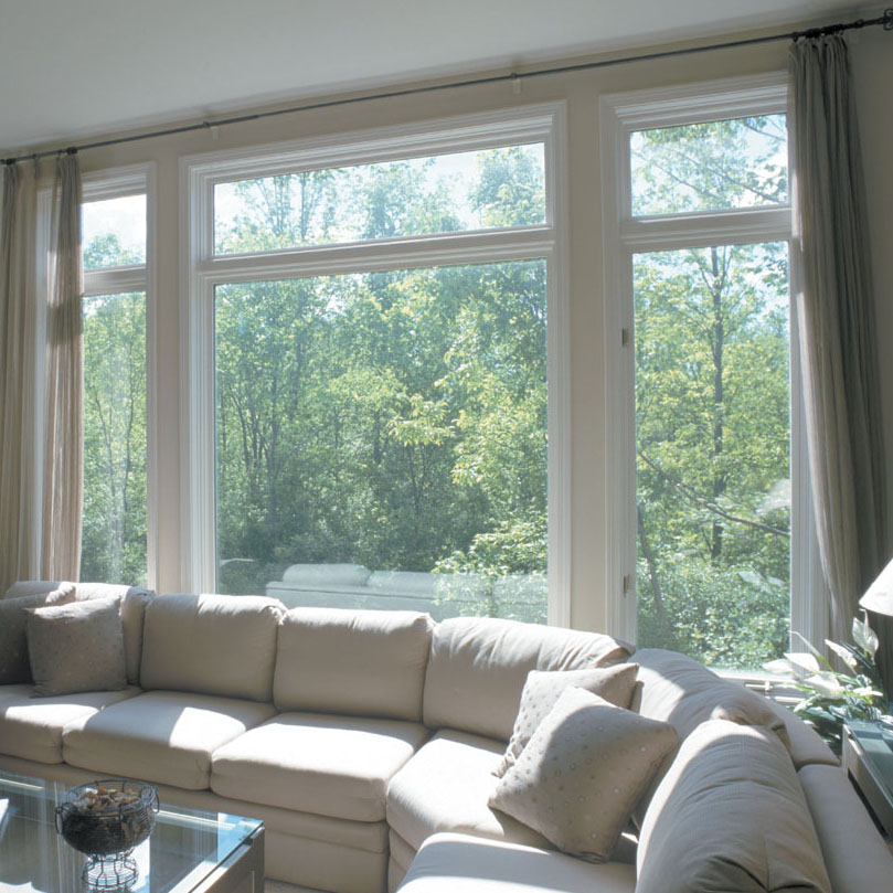 Make your space feel brighter and bigger with floor to ceiling windows