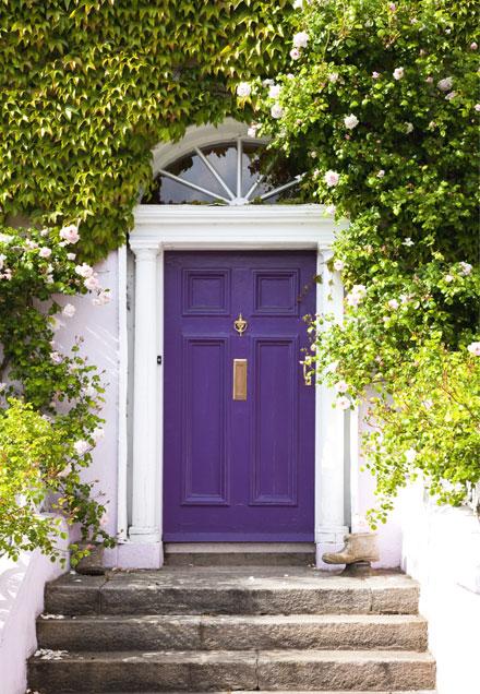 colorful-front-doors-purple-door
