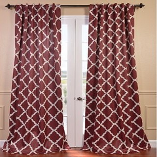 Blackout curtains now come in all sorts of fun patterns so you can still make a stylish statement while cooling your home.