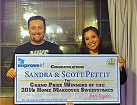 $45,000 Home Makeover Sweepstakes: Past Winners Photo 4