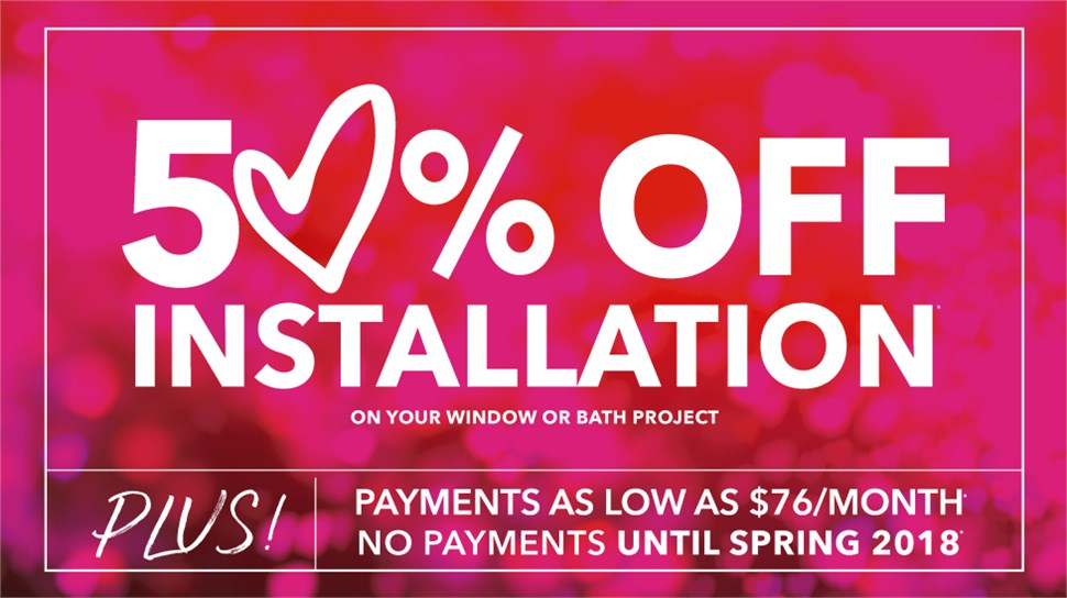 GET 50% OFF YOUR INSTALLATION COST