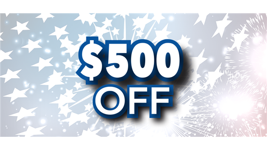$500 OFF YOUR NEXT PROJECT!*