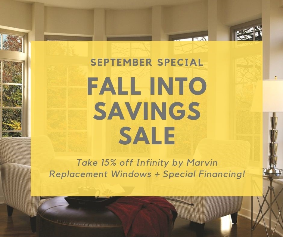 september sale on infinity by marvin replacement windows