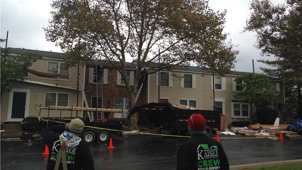 Roof Repair - Storm Damage Photo 1