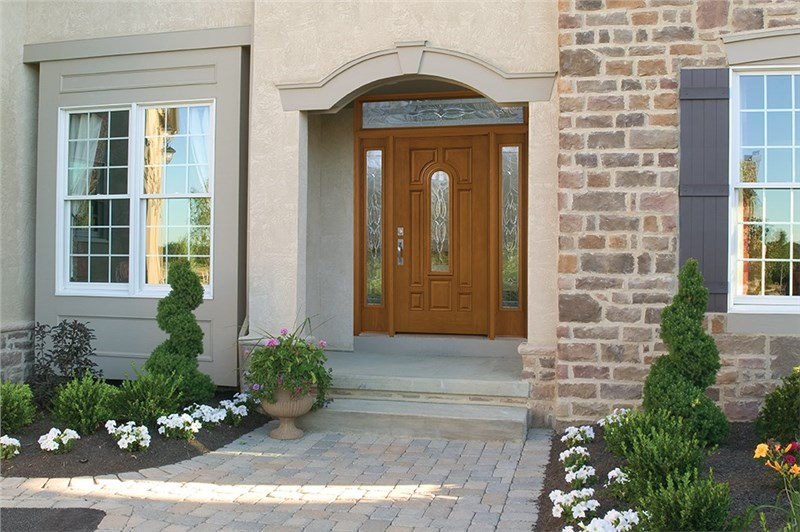 Chicago front entry door