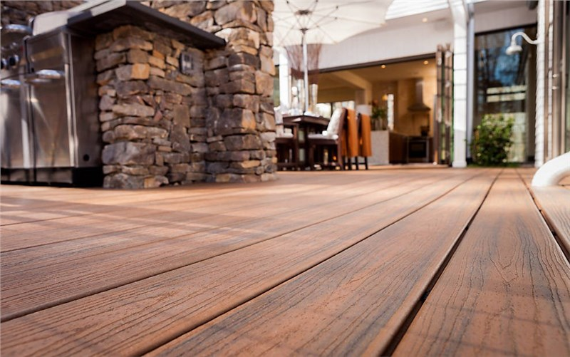 chicago composite decking