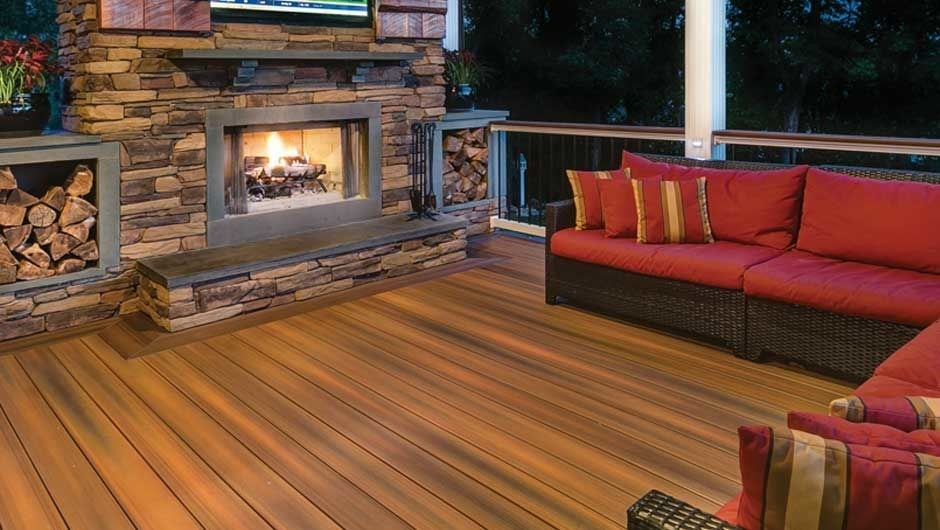 Fiberon composite decking chicago wholesale decks for Fiberon ipe decking prices