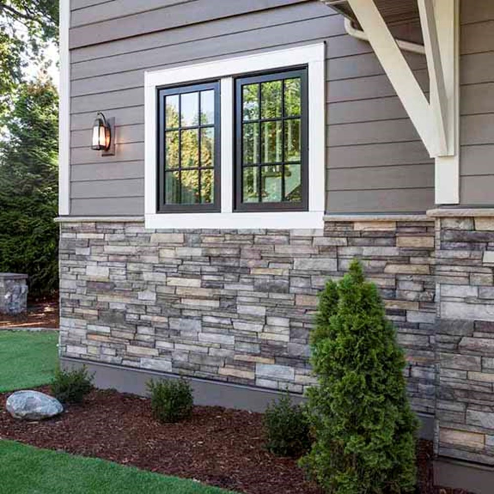 Exterior Siding Design: Chicago Faux Stone Panels