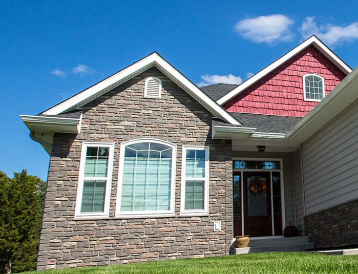 Tando Faux Stone Siding. Click To Enlarge