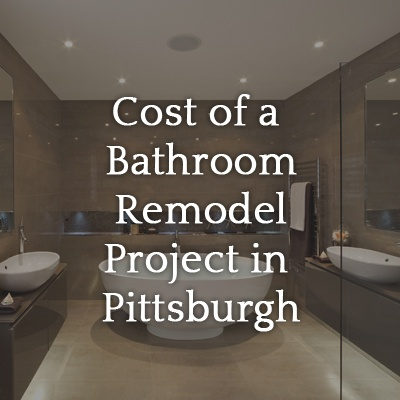 Cost Of A Bathroom Remodel Project In Pittsburgh Legacy Remodeling Interesting Bathroom Remodeling Pittsburgh