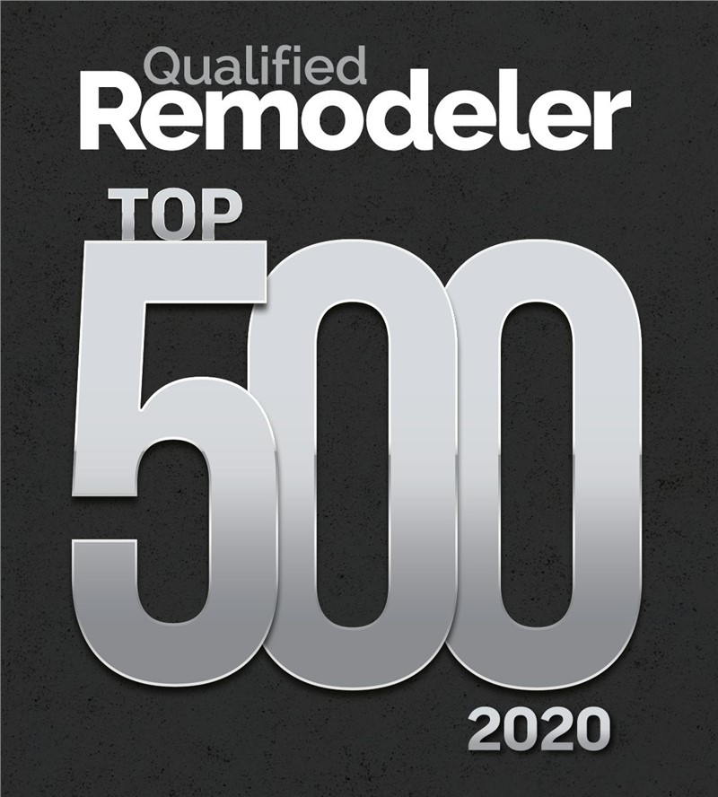 Legacy Remodeling Named to Qualified Remodeler TOP 500 for 2020