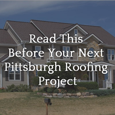 Pittsburgh Roofing Project