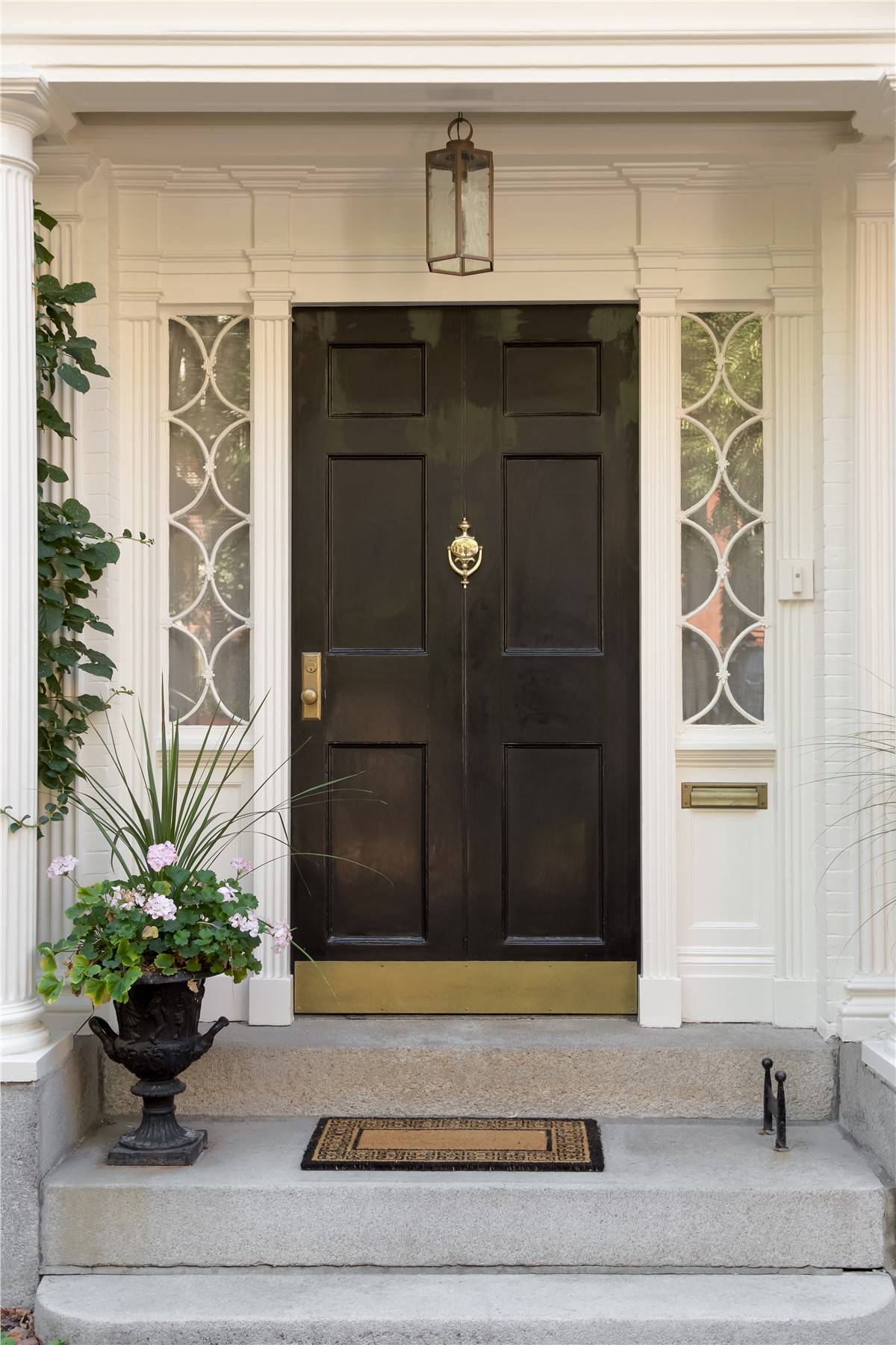 homes steel entry paint of residential for door image doors frame metal stainless front matano co
