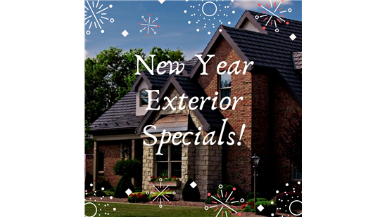 New Year Exterior Specials!