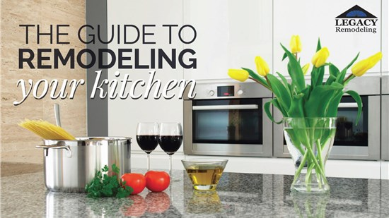 The Guide to Remodeling Your Kitchen