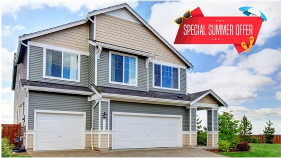 End of Summer Roofing, Siding, & Kitchen Specials!