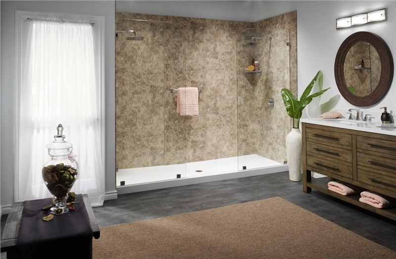 Bath and Shower Options for a Master or Other Large Bathroom