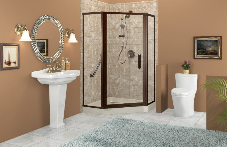 3 Ways to Make the Most of Small Bathrooms
