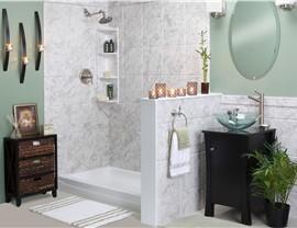 Barrier Free Shower Installation | Luxury Bath of Tampa Bay