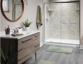 Bathroom Remodeling - Acrylic shower Photo 3