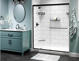 Bathroom Remodeling - Acrylic shower Photo 2