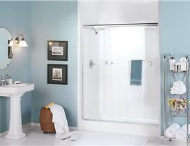 Single Threshold Shower Luxury Bath Of Tampa Bay