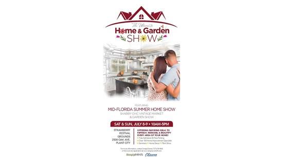 Mid Florida Home Show !!!   Saturday July 8th & Sunday July 9th 10am-pm