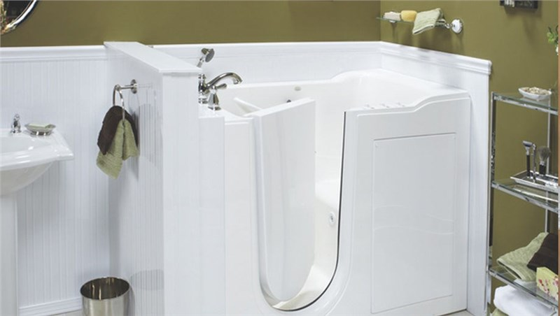 model of a walk-in bathtub by luxury bath of texoma