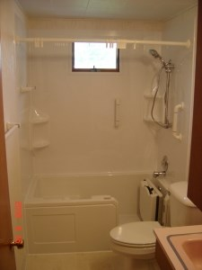 walk-in tub after