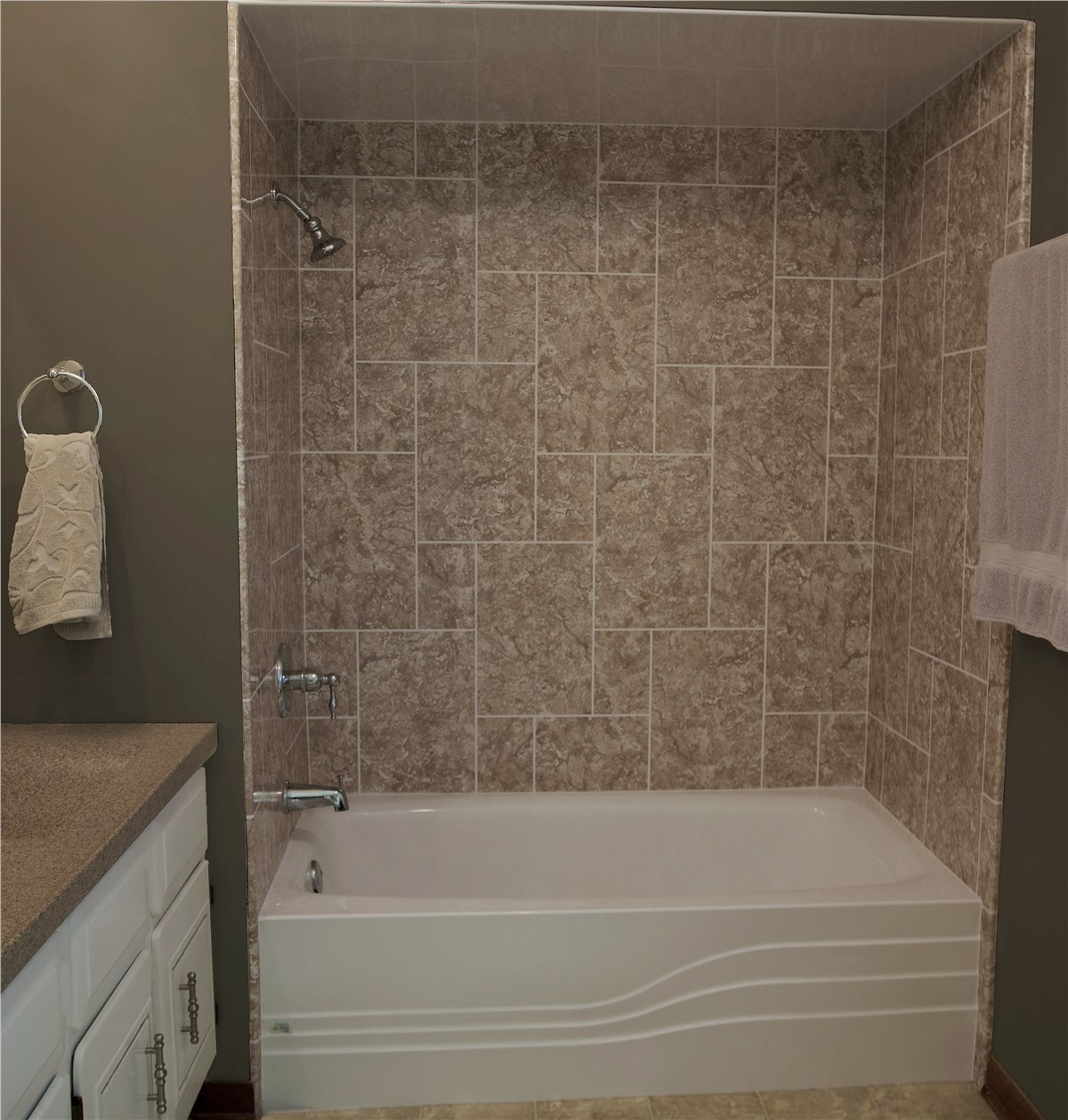 Shower Surrounds | North Texas Shower Wall Panels | Luxury Bath of ...
