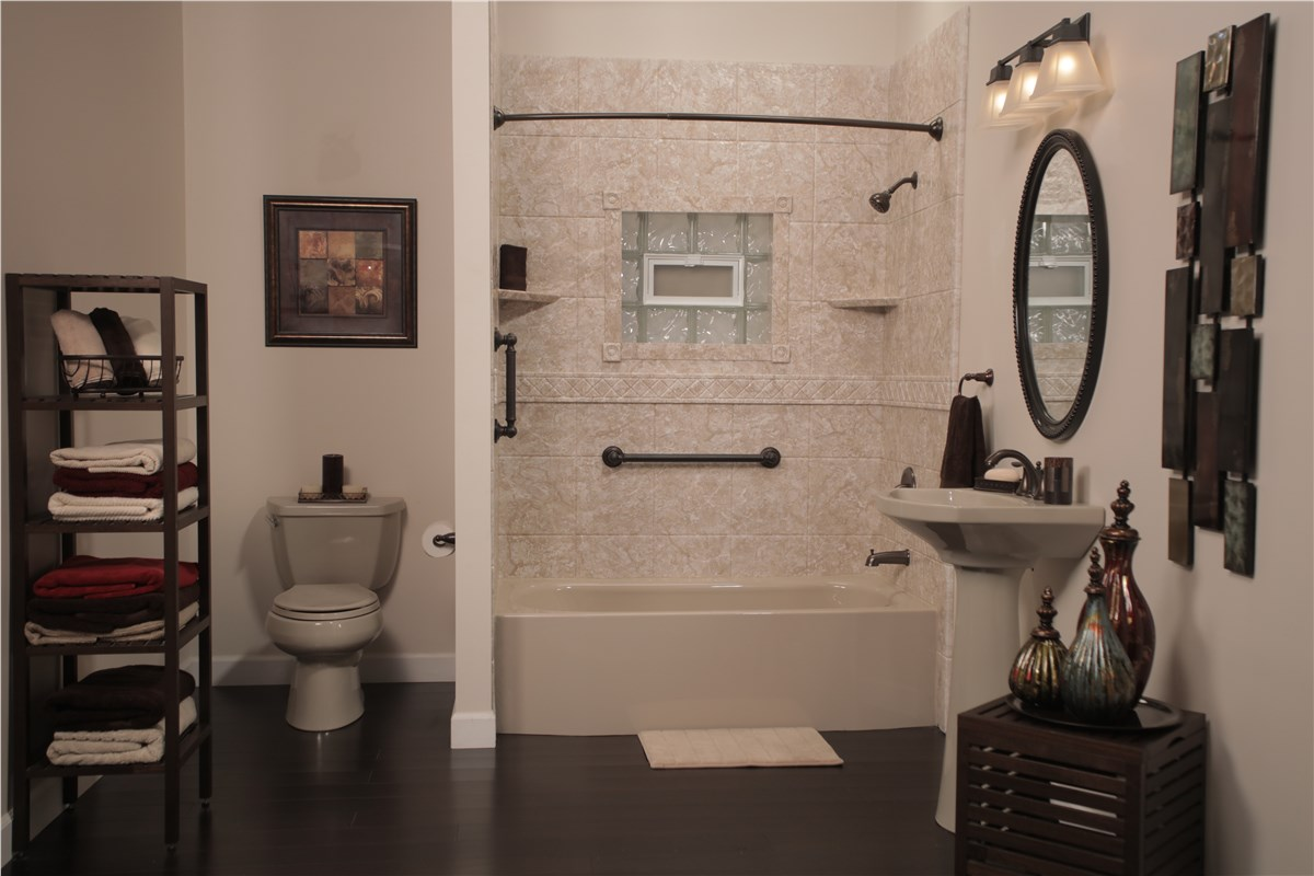 Bathroom Conversion Wichita Falls Shower Bathtub