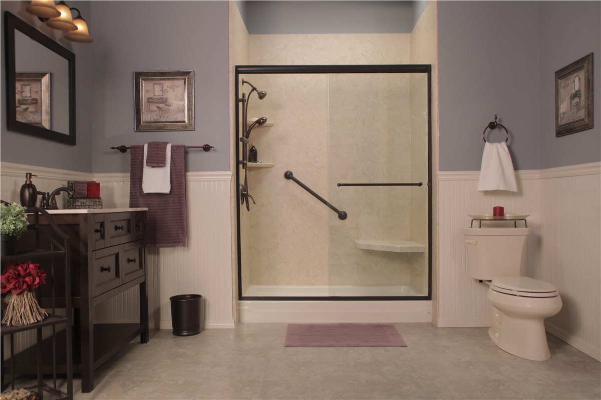 Bathtub To Shower Conversion North Texas Replace Tub With