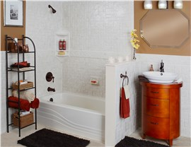 Shower to Tub Conversion Photo 2