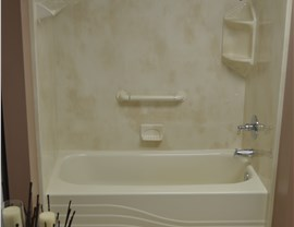 Shower to Tub Conversion Photo 4
