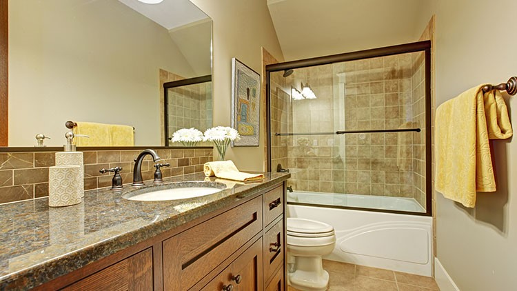 beautiful bathroom remodel by luxury bath of texoma