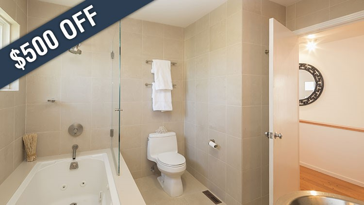 $500 Off Standard Bath Remodels