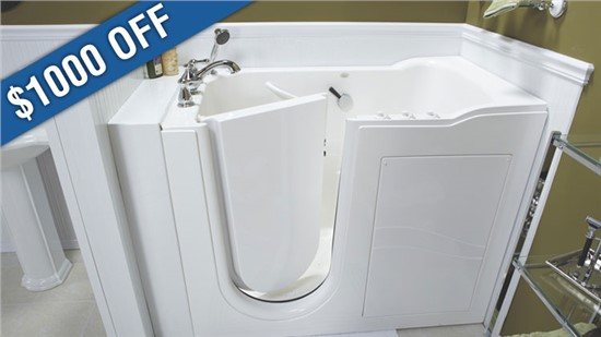 $1000 Discount on Walk-in Tubs