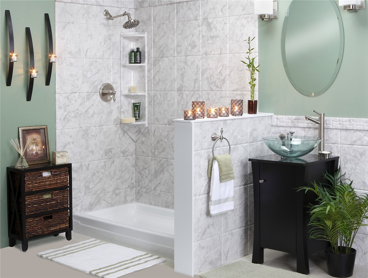 Tub to shower conversions bathroom remodeling mad city - Bathroom remodel tub to shower conversion ...